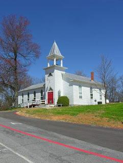 pretty old church