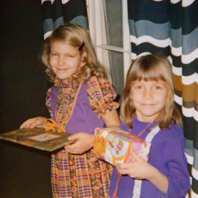 children with presents