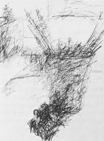 Scribble Line Gesture Drawing : Drawing painting notes classes line