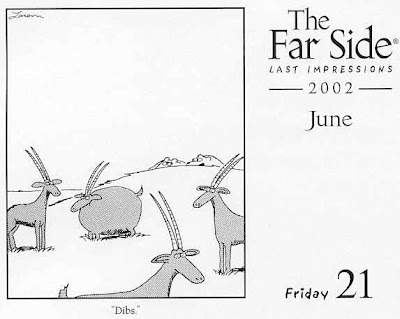 His and Hers POV:: Best Cartoon Ever: The Far Side