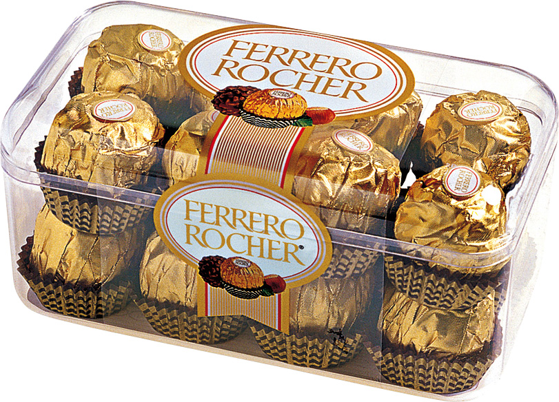 BOX of 200g FERRERO ROCHER Hazelnut Milk Chocolate 16pcs. worldwide ...