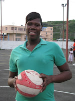 Grenada's first professional netballer heads to Europe