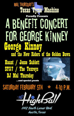 George Kinney Benefit