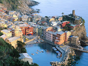 Cinque Terre, Italy. Beautiful This is off the coast of the Italian . (vernazza cinque terre liguria italy)