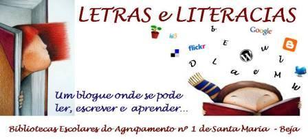 LETRAS E LITERACIAS