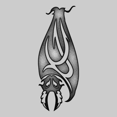 You can DOWNLOAD this Bat Tattoo Design - TATRBA10