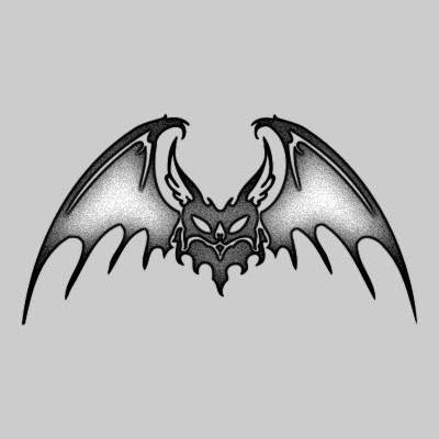 You can DOWNLOAD this Bat Tattoo Design - TATRBA18