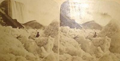 beku4 Bekunya Air Terjun Niagara Tahun 1911
