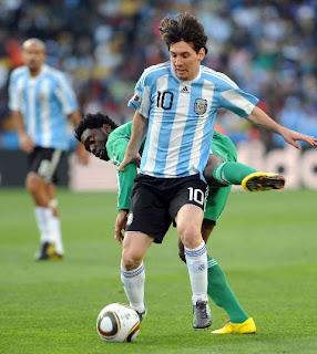 Argentina 1 Nigeria 0, mundial de futbol Sudafrica 2010, Grupo B