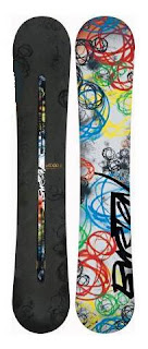 2009 Burton Vapor Snowboard - Best snowboards for powder!
