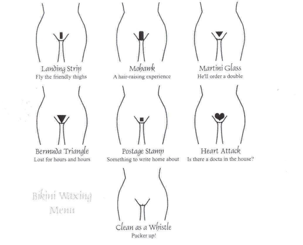Brazilian Bikini Hair Designs 79