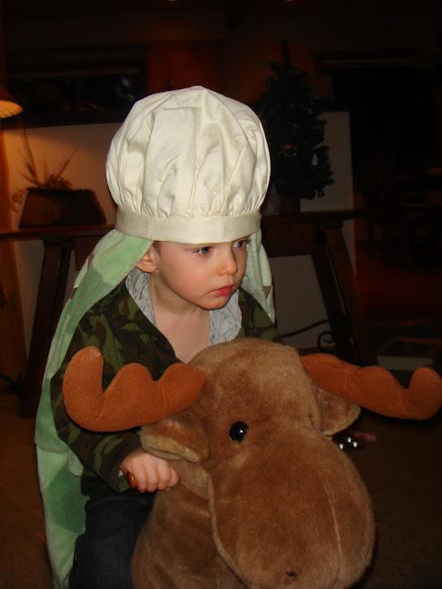 Ethan The Shepherd Riding his Moose