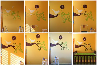 How To Paint A Simple Nursery Mural