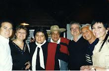 RAUL PALMA, CHATO BAZAN, EL POTRO, LUIS LAPOUX, EL TUCU y MONICA GUTIERREZ