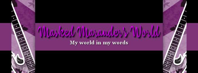 Your Marvelously Masked Marauder