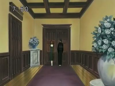 Marimite Haru episode 13: In front of Sachiko's door
