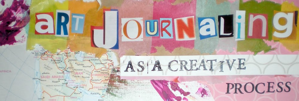 art journaling as a creative process