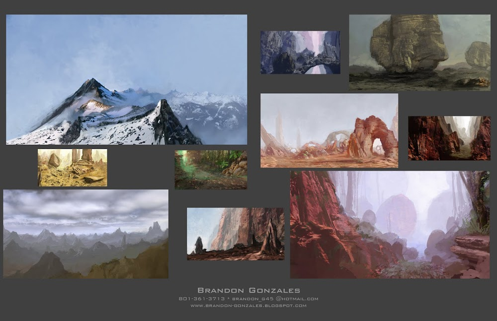 Thumbnails - Organic Concepts