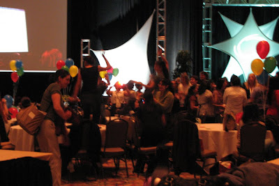dancing at Grace Hopper 2008
