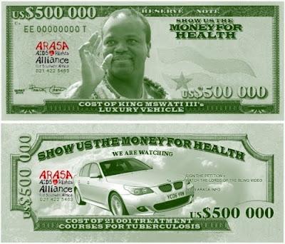 """""""Lords of the Bling"""". No hay dinero para Salud en África. ¿De verdad?"""