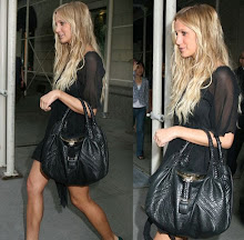 Ashlee Simpson's Fendi Braided Spy