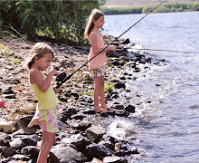 THE GIRLS DOING SOME SERIOUS FISHING!!