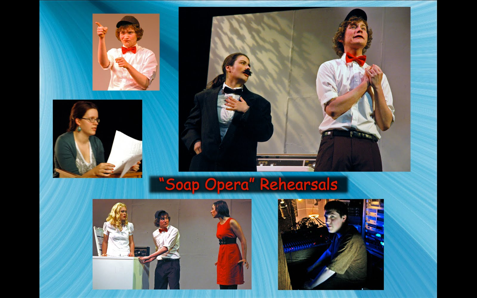soap opera david ives Soap opera refers to radio or television dramas aired primarilyduring the morning and afternoon hours  what was the setting of the play soap opera by david ives.