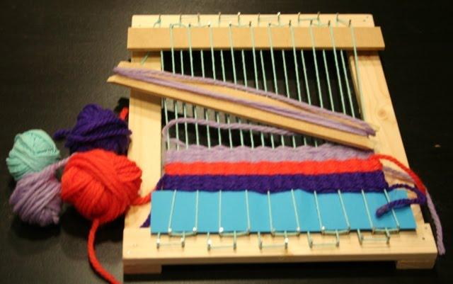 Telaio per tessere fai da te sanotint light tabella colori - Telaio da tavolo per tessitura a mano ...