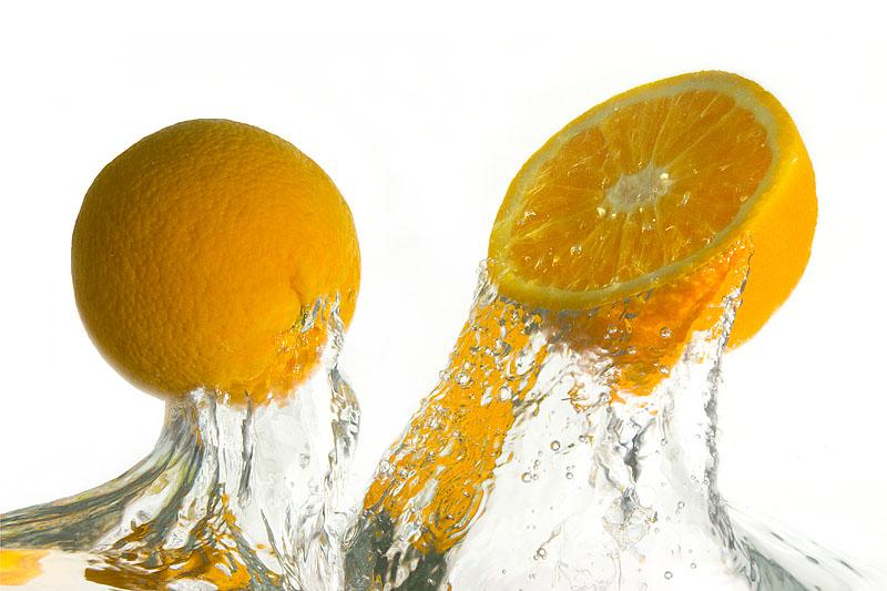 апельсин сжигает жиры