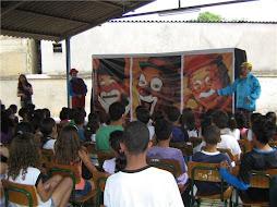 O Teatro também esteve no colemar no dia 25 de junho com a Peça: A História do Circo