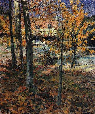 Outono - obra do pintor José Malhoa