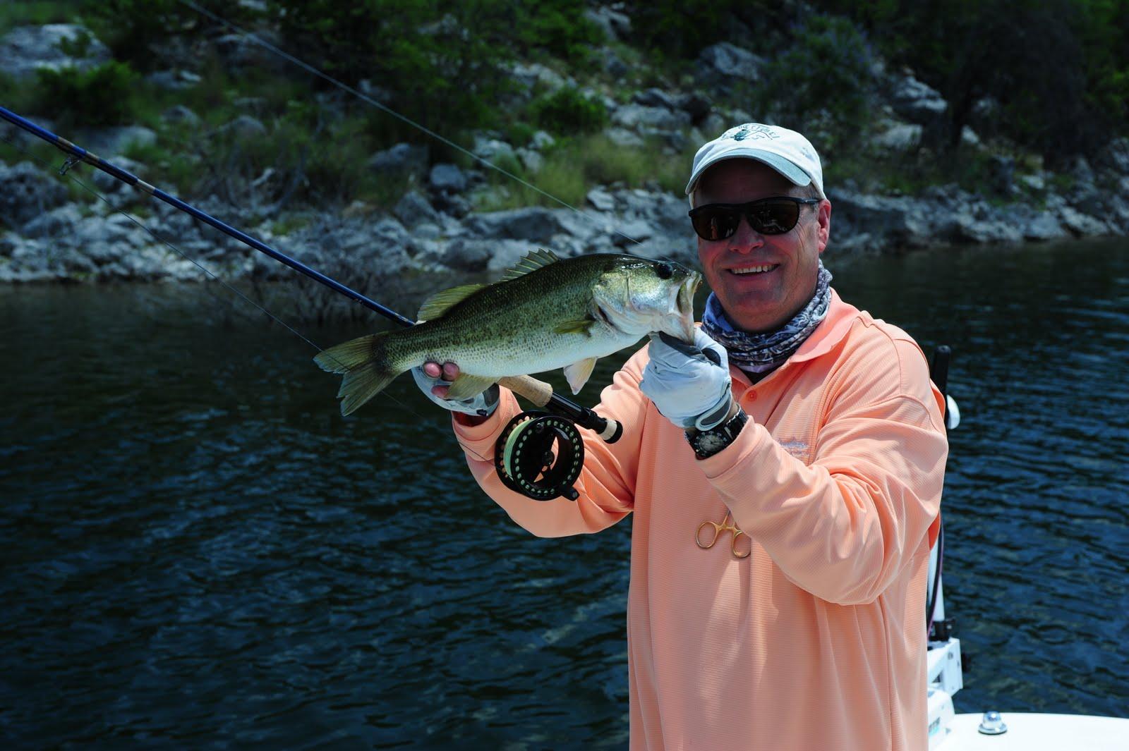 Fishon the fly lake amistad nra rough canyon for Lake amistad fishing