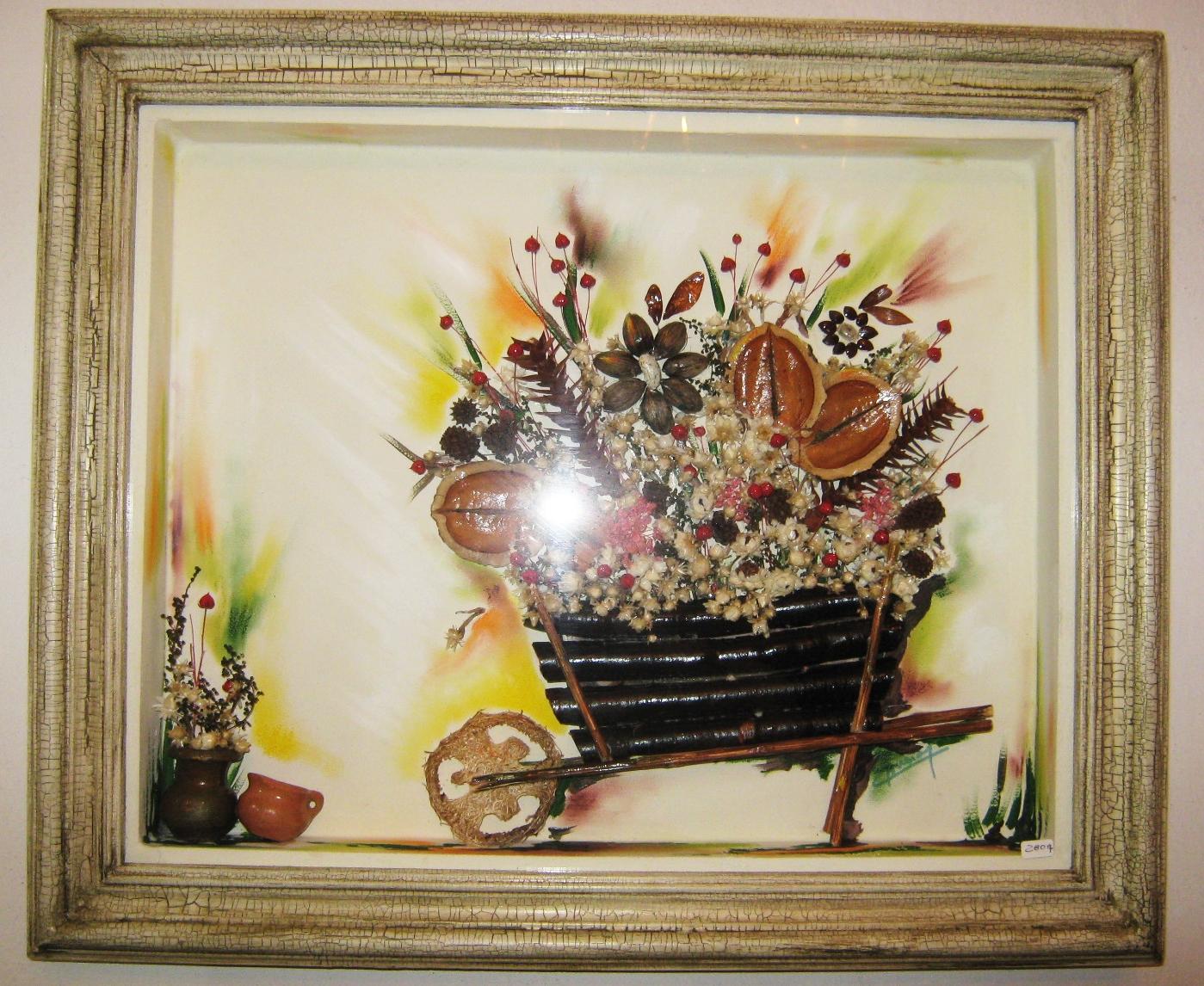 Fotos De Cuadros De Flores Secas - flores secas y artificiales Manualidades y Bellas Artes