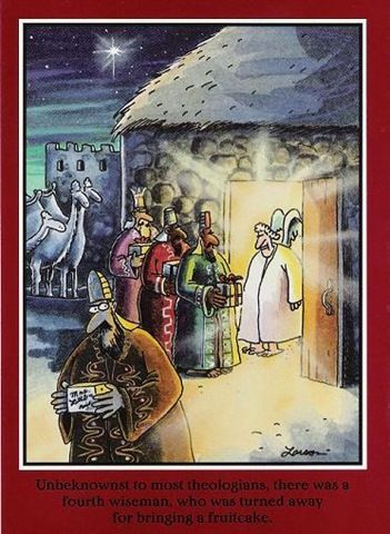 MERRY CHRISTMAS THE FAR SIDE