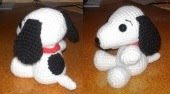 Free Amigurumi Patterns: Snoopy as Amigurumi