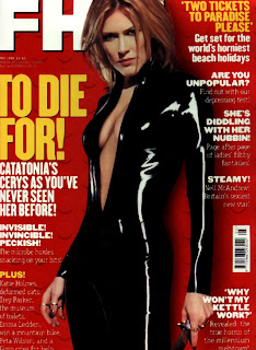 Cerys Matthews FHM cover