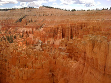 walking on sunshine in Bryce Canyon