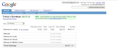 earning adsense