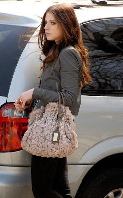 Gossip Girl Bag Style Мишель Трахтенберг
