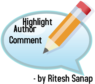 Highlight Author Comment in Blogspot
