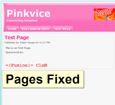 Pinkvice   Blogger Template