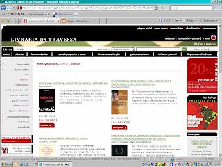 Poder S.A. está entre os 10 mais vendidos da Travessa!!!