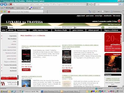 Primeiro lugar de vendas em Administração na Travessa.com!