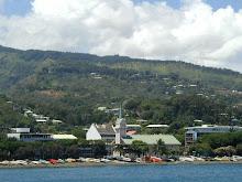 Arrivée Papeete