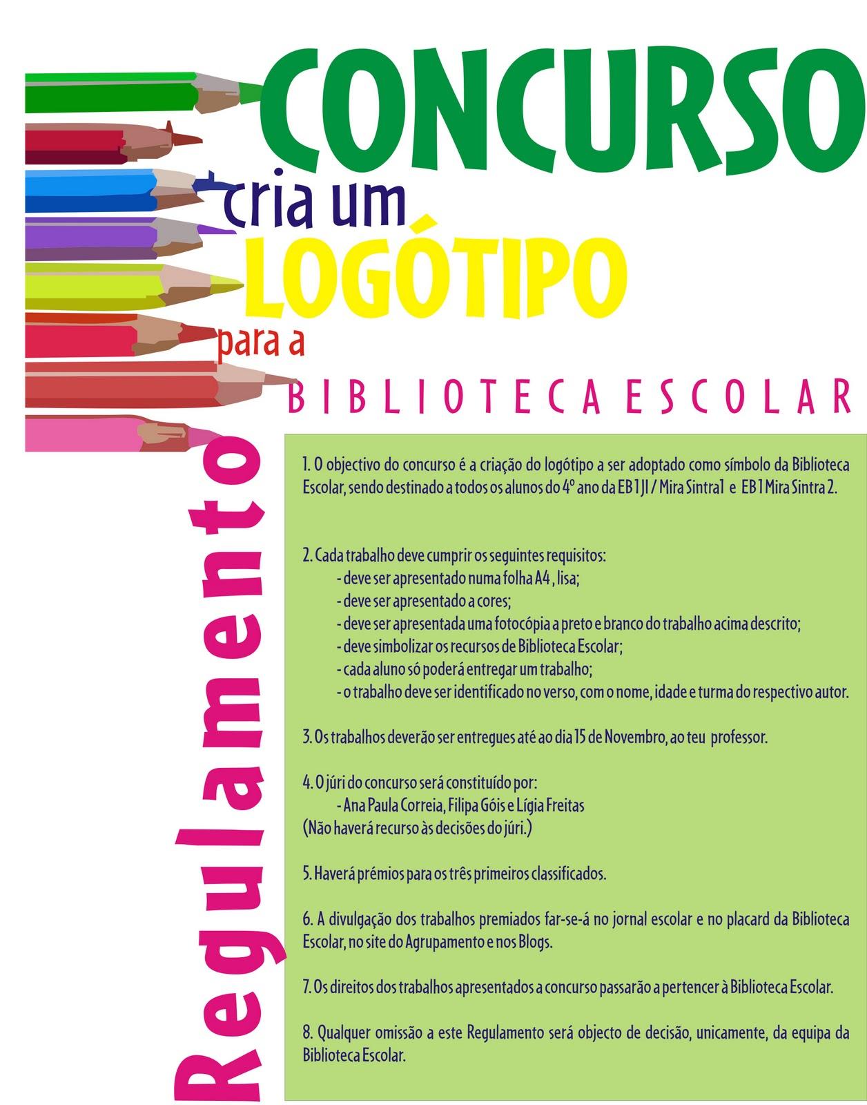 Biblioteca ddj espa o da criatividade concurso cria um for Logotipos de bibliotecas