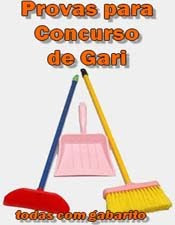 Provas Para Concurso de Gari download baixar torrent