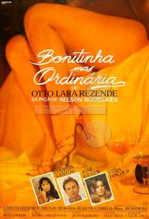 Filme Poster Bonitinha Mas Ordinária DVDRip RMVB Nacional