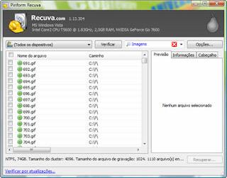 Recuva 1.22.384 Recupere Dados Perdidos