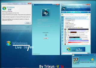 Download Skin Windows Se7en para MSN