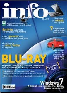 Revista Info Exame - Blu-Ray